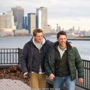 Два парня в Нью-йорке